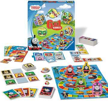 Thomas & Friends 6-in-1 Games Games;Children s Games - image 1 - Ravensburger