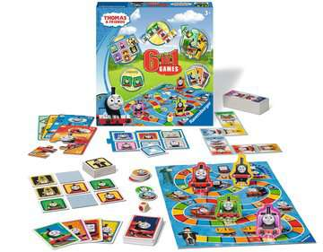 Thomas & Friends 6-in-1 Games Games;Children s Games - image 2 - Ravensburger