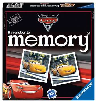 Disney/Pixar Cars 3 memory® Giochi;Giochi educativi - immagine 1 - Ravensburger