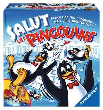 Salut les pingouins Games;Children s Games - image 1 - Ravensburger