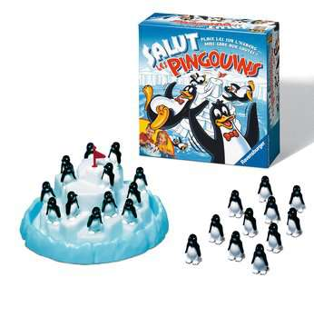 Salut les pingouins Games;Children s Games - image 2 - Ravensburger