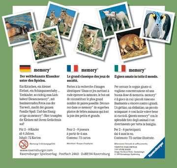 Grand memory® Petits animaux Jeux de société;Jeux enfants - Image 2 - Ravensburger