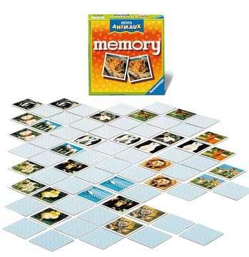 Grand memory® Petits animaux Jeux de société;Jeux enfants - Image 3 - Ravensburger