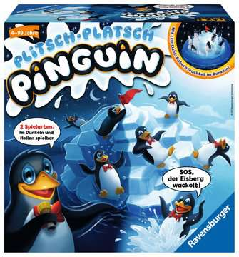 21325 Kinderspiele Plitsch - Platsch Pinguin von Ravensburger 1