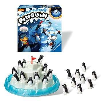 Plitsch - Platsch Pinguin Spiele;Kinderspiele - Bild 6 - Ravensburger