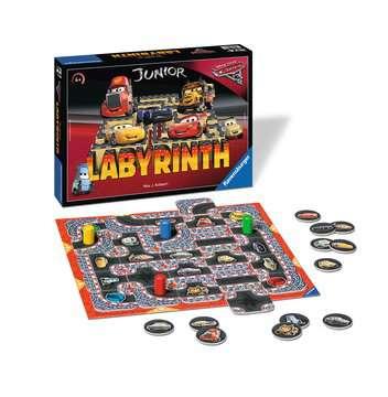 Disney/Pixar Cars 3 Junior Labyrinth Spil;Børnespil - Billede 2 - Ravensburger