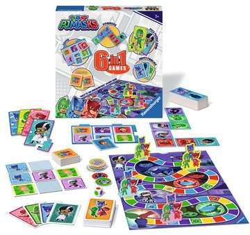 PJ Masks 6-in-1 Games Games;Children s Games - image 2 - Ravensburger