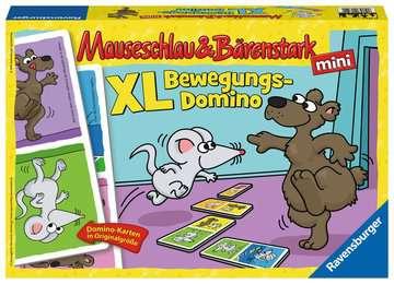 Mauseschlau & Bärenstark  XL Bewegungs-Domino Spiele;Kinderspiele - Bild 1 - Ravensburger