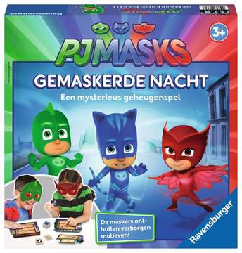 PJ Masks Gemaskerde Nacht Spellen;Vrolijke kinderspellen - image 1 - Ravensburger