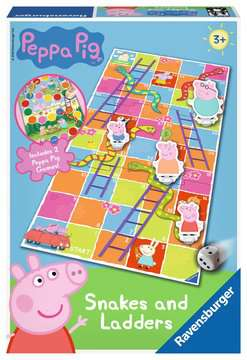 Peppa Pig Snakes and Ladders Games;Children s Games - image 1 - Ravensburger