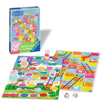 Peppa Pig Snakes and Ladders Games;Children s Games - image 2 - Ravensburger