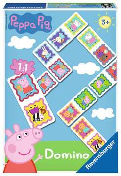 Peppa Pig Dominoes Games;Children s Games - image 1 - Ravensburger