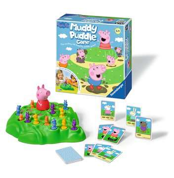 Peppa Pig s Muddy Puddles Game Games;Children s Games - image 2 - Ravensburger