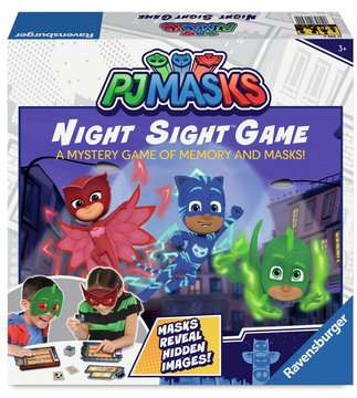 PJ Masks Night Sight™ Game Games;Children s Games - image 1 - Ravensburger