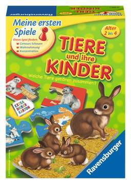 21403 Kinderspiele Tiere und ihre Kinder von Ravensburger 1