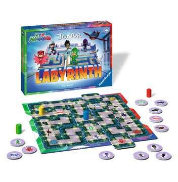 Labyrinthe Junior Pyjamasques Jeux de société;Jeux enfants - Image 2 - Ravensburger