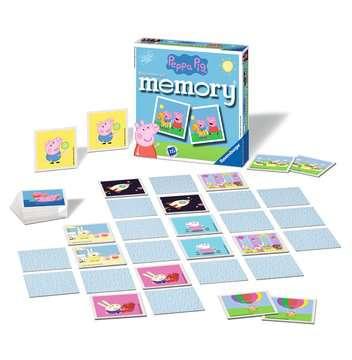 Peppa Pig memory® Spil;Børnespil - Billede 2 - Ravensburger