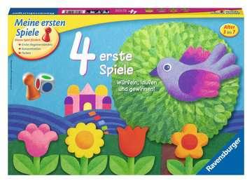 4 erste Spiele Spiele;Kinderspiele - Bild 1 - Ravensburger