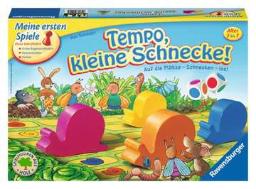 21420 Kinderspiele Tempo, kleine Schnecke! von Ravensburger 1