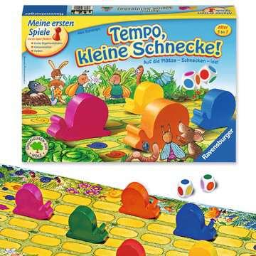 21420 Kinderspiele Tempo, kleine Schnecke! von Ravensburger 3
