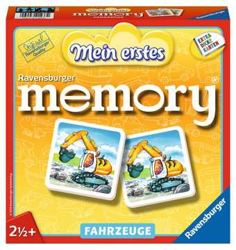 21437 Kinderspiele Mein erstes memory® Fahrzeuge von Ravensburger 1