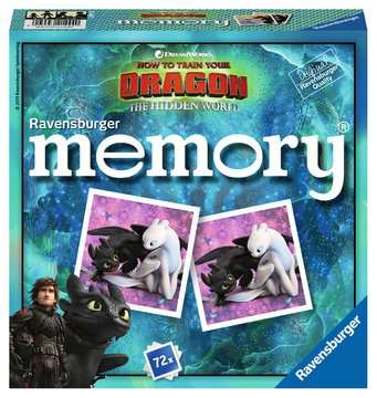 Grand memory® Dragons 3 Jeux éducatifs;Loto, domino, memory® - Image 1 - Ravensburger
