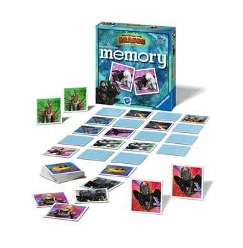Dragons 3 memory® Spil;Børnespil - Billede 2 - Ravensburger