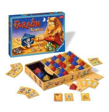 Faraôn Junior Juegos;Juegos de familia - imagen 2 - Ravensburger