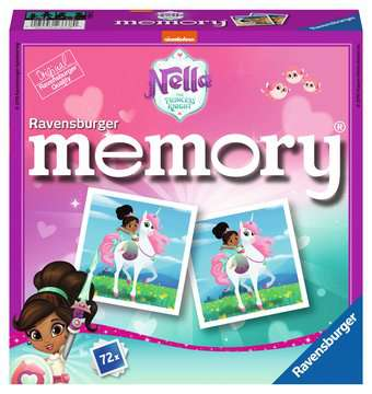 Nella the Princess Knight memory® Giochi;Giochi educativi - immagine 1 - Ravensburger