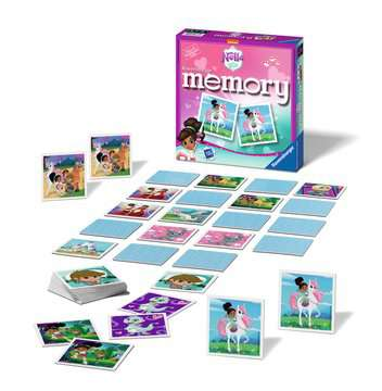 Nella the Princess Knight memory® Giochi;Giochi educativi - immagine 2 - Ravensburger