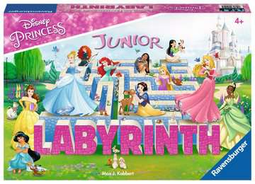 Disney Princess Junior Labyrinth Spellen;Vrolijke kinderspellen - image 1 - Ravensburger