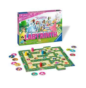Disney Princess Junior Labyrinth Spellen;Vrolijke kinderspellen - image 2 - Ravensburger