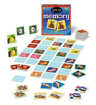 Junior memory® Spiele;Kinderspiele - Bild 3 - Ravensburger