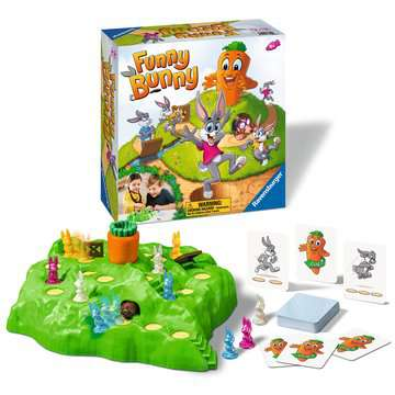Funny Bunny Games;Children s Games - image 2 - Ravensburger