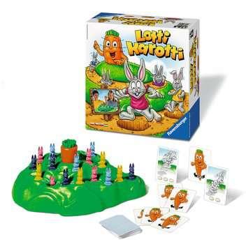 Lotti Karotti Hry;Zábavné dětské hry - image 2 - Ravensburger