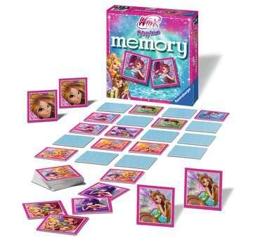 Winx memory® Giochi;Giochi educativi - immagine 2 - Ravensburger