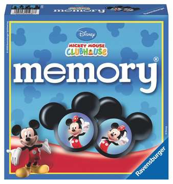 Mickey Mouse Clubhouse memory® Giochi;Giochi educativi - immagine 1 - Ravensburger