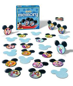 Mickey Mouse Clubhouse memory® Spellen;memory® - image 2 - Ravensburger
