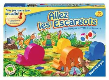 Allez les escargots Jeux;Jeux pour enfants - Image 1 - Ravensburger