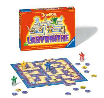 Labyrinthe Junior Jeux;Jeux pour enfants - Image 2 - Ravensburger