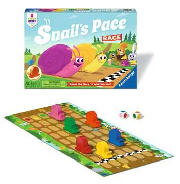 Snail s Pace Race Games;Children s Games - image 2 - Ravensburger