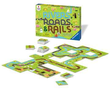 Rivers, Roads & Rails Games;Children's Games - image 2 - Ravensburger