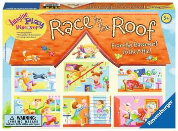 Race to the Roof Games;Children's Games - image 1 - Ravensburger