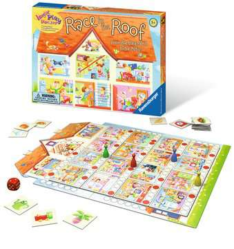 Race to the Roof Games;Children's Games - image 2 - Ravensburger