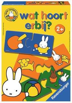 nijntje: Wat hoort erbij? Spellen;Vrolijke kinderspellen - image 1 - Ravensburger