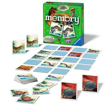 Grand memory® Dinosaures Jeux;memory® - Image 2 - Ravensburger