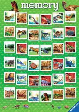 Grand memory® Dinosaures Jeux;memory® - Image 4 - Ravensburger