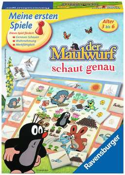 22167 Kinderspiele Der Maulwurf schaut genau von Ravensburger 1