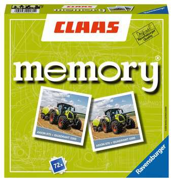 22171 Kinderspiele CLAAS memory® von Ravensburger 1
