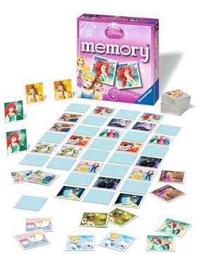 Disney Princess memory® Giochi;Giochi educativi - immagine 2 - Ravensburger